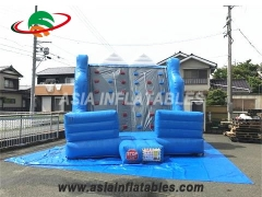 High Quality PVC Climbing Wall Inflatable Rocky Climbing Mountain For Sale & Interactive Sports Games