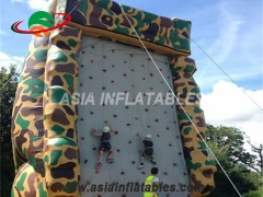 Exciting Fun Indoor Inflatable Air Rock Mountain Climbing Wall, Inflatable Climbing Walls Sport Games in Factory Price